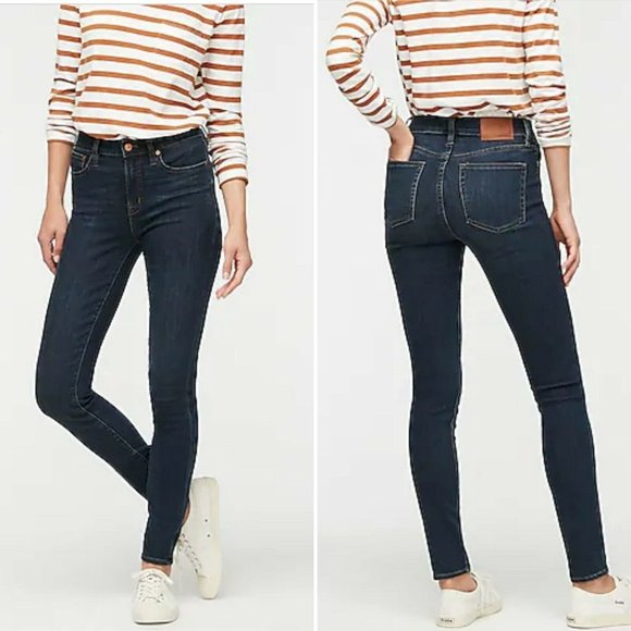 J.Crew Lookout High Rise Skinny Size 28 Stretch